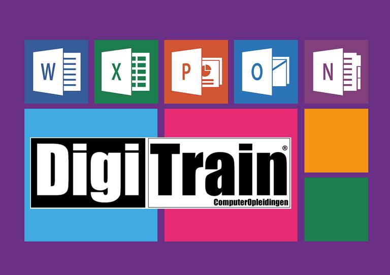 Microsoft Office trainingen bij DigiTrain ComputerOpleidingen