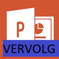 Microsoft PowerPoint vervolg training bij DigiTrain